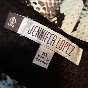 Jennifer Lopez Dresses - Jennifer Lopez Snake Skin Bodycon Dress